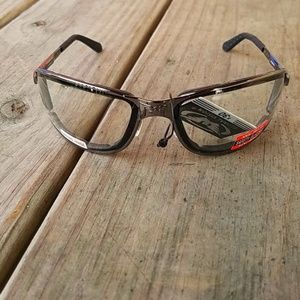Z87 Motorcycle Safety Glasses Clear Lens Padded
